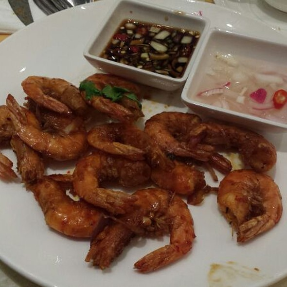 Stir Fried Shrimps