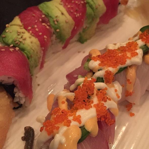 Sushi Rolls - BlueFin Japanese Restaurant, San Jose, CA