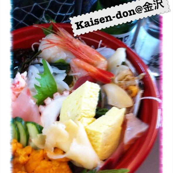 Kaisen Don @ 魚菜屋