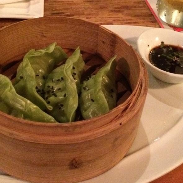 Steamed Veggie Dumplings - Kapow! Noodle Bar, Boca Raton, FL