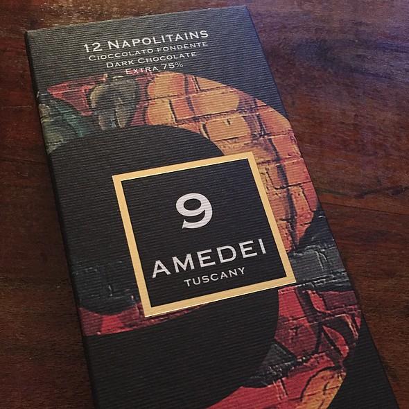 Amedei chocolate @ Massi's House