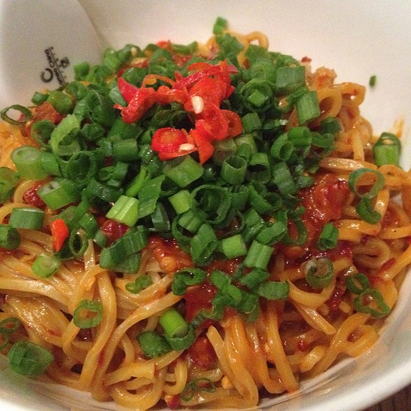 Extremely Spicy Noodles @ Momofuku Noodle Bar