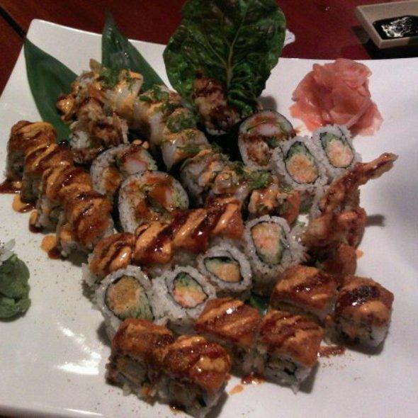 Sushi @ makiman sushi medford