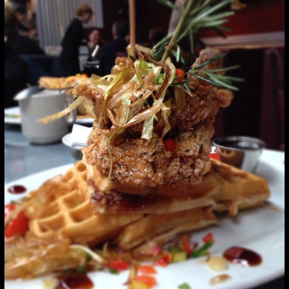 Andy's Sage Fried Chicken @ Hash House A Go Go
