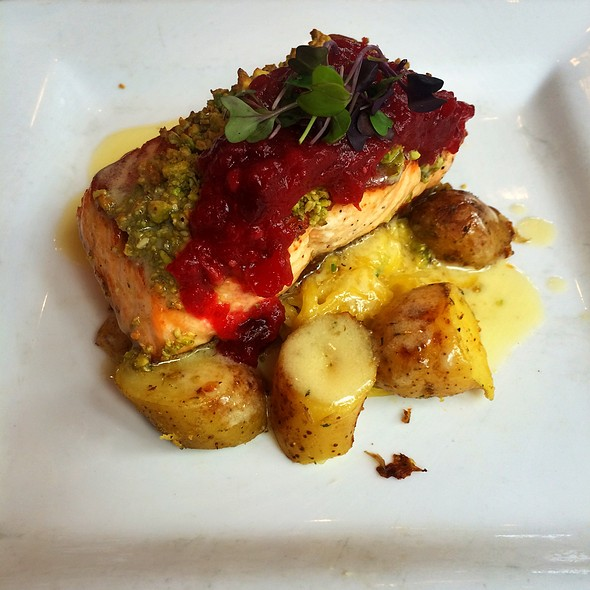 Grilled Salmon - Abigail's Grille & Wine Bar, Simsbury, CT