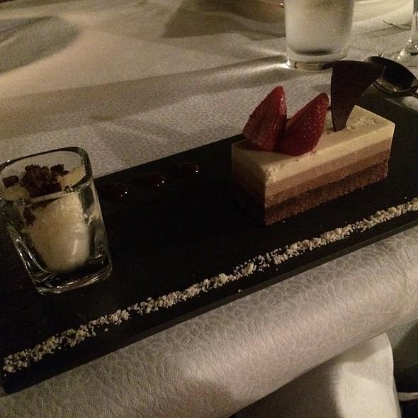 Chocolate Trio @ Al Maha Desert Resort And Spa