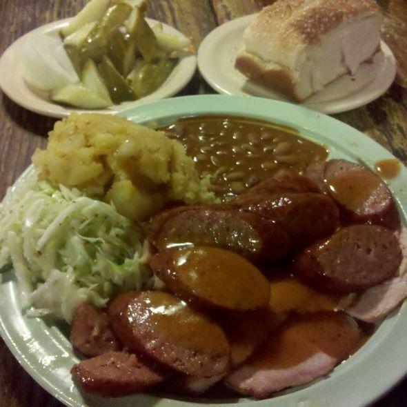 Sausage & Turkey @ Salt Lick BBQ