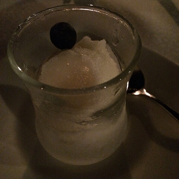 Pineapple Sorbet @ Al Maha Desert Resort And Spa