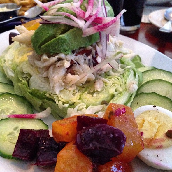 Crab Louis Salad @ walnut creek yacht club