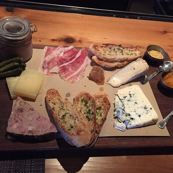 cheese & charcuterie plate - Dallas Chop House, Dallas, TX