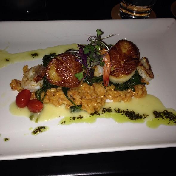 Shrimp & Scallops @ Shore Diner Sarasota