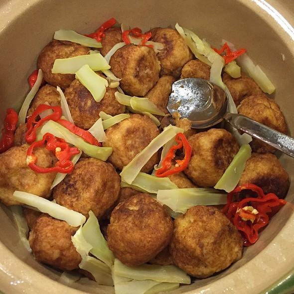Tofu Balls @ Home