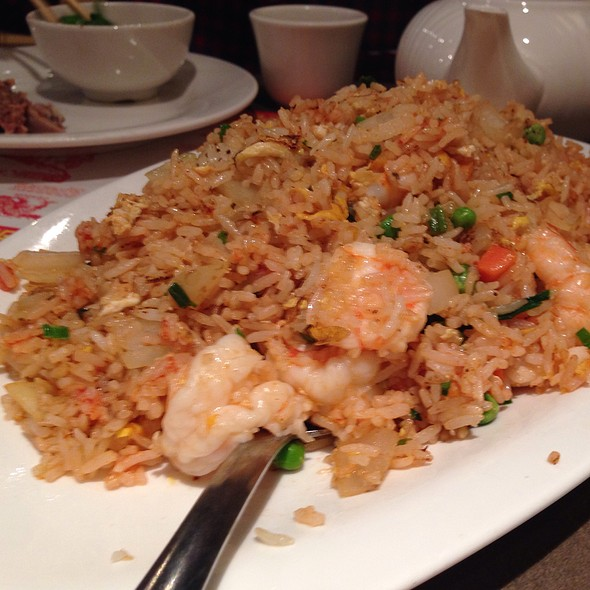 Jumbo Shrimp And Ketchup Fried Rice