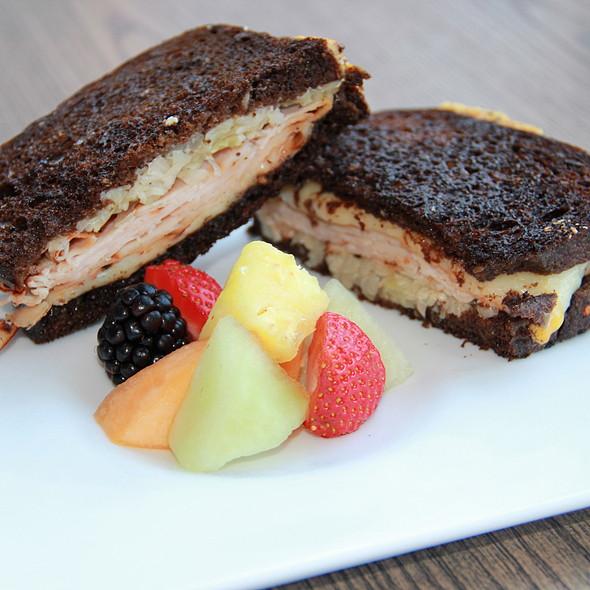 Turkey Reuben Sandwich - Grand Cafe @ Omni Los Angeles, Los Angeles, CA