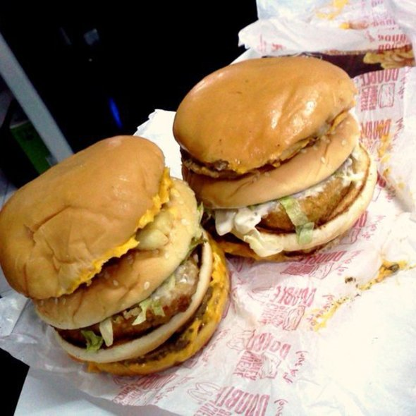 McGangBang (Double Cheeseburger & McChicken)