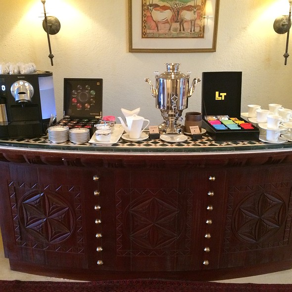 Coffee And Tea Service @ Al Maha Desert Resort And Spa
