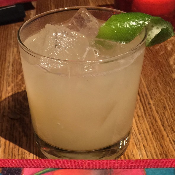 Ginger Pear Margarita