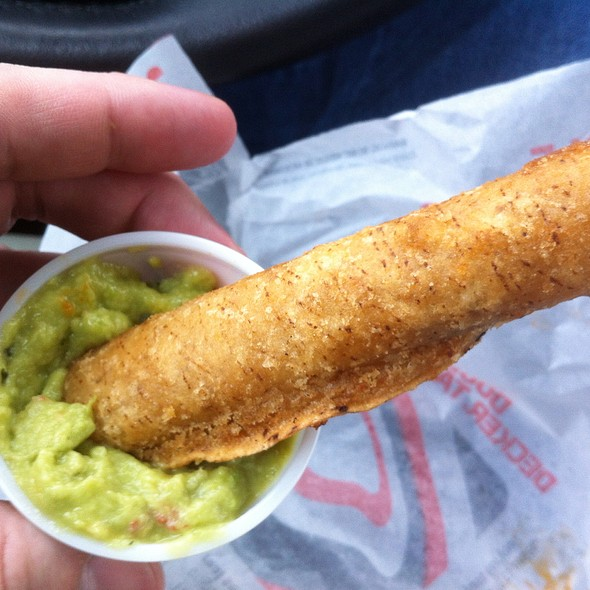 Chicken Rolled Tacos @ Taco Bell