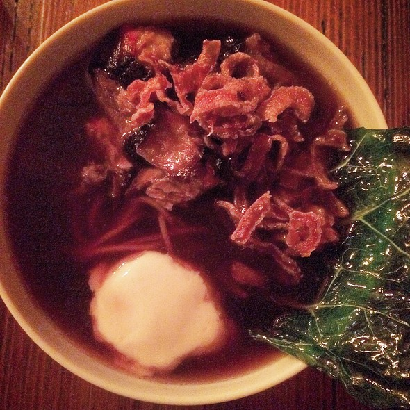 Brisket Ramen @ The Granary Cue & Brew