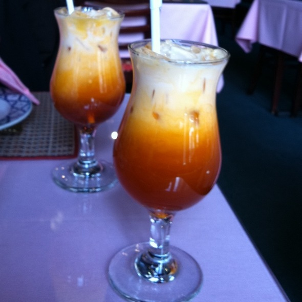 Thai Ice Tea @ Bann Thai