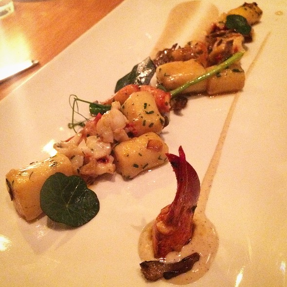 Lobster, Gnocchi, And Truffle Cream @ The Promontory