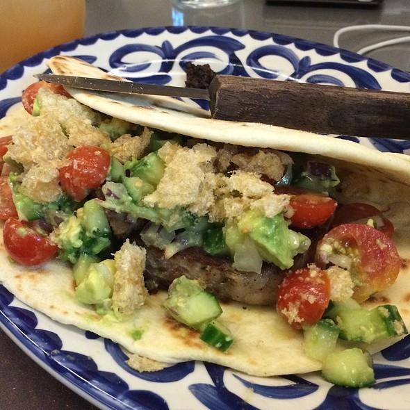 Smoked Brisket Taco Norteño @ Dove's Lunchonette