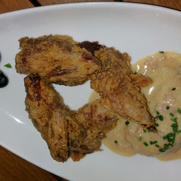 Buttermilk Fried Quail With Sweet Potato