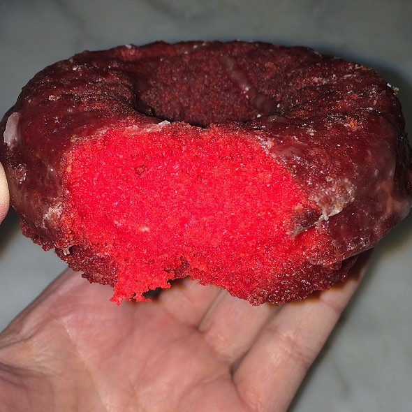 Red Velvet Cake Donut @ The Donut Pub