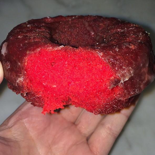 Red Velvet Cake Donut @ The Donut Pub