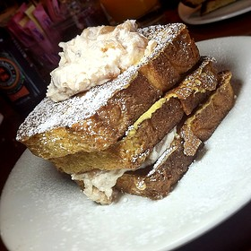 Cinnamon Apple French Toast Layers - Food Dance, Kalamazoo, MI