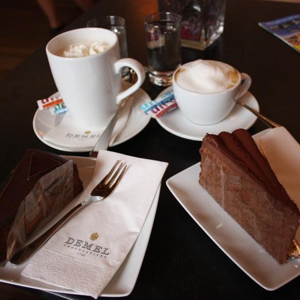Sacher Torte & Truffle Torte