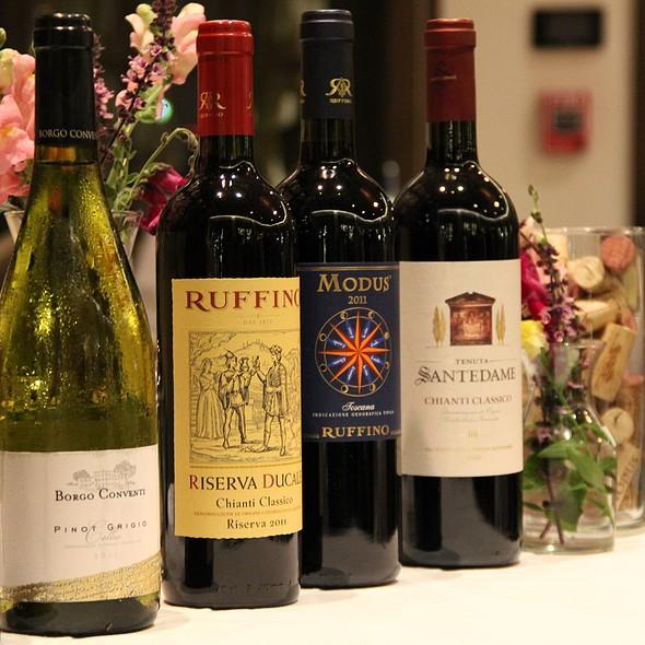 Wine Selection - Chapel Grille, Cranston, RI