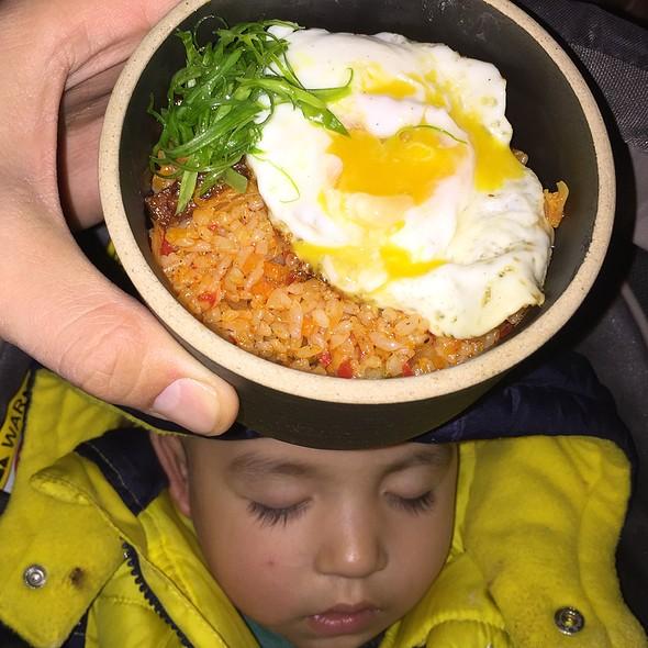 Kimchi Fried Rice @ Goggan