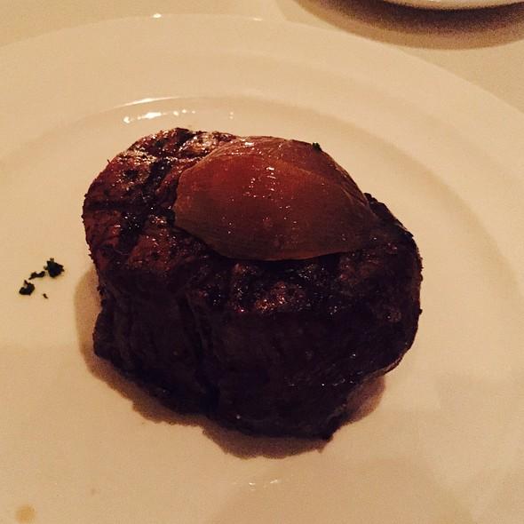 Fillet Mignon W/ Asparagus And Horseraddish Potatoes - Charlie Palmer Steak Las Vegas, Las Vegas, NV