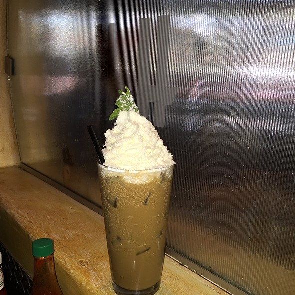 Frosted Mint Latte