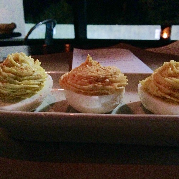 Deviled Eggs Three Ways @ Holeman & Finch Public House
