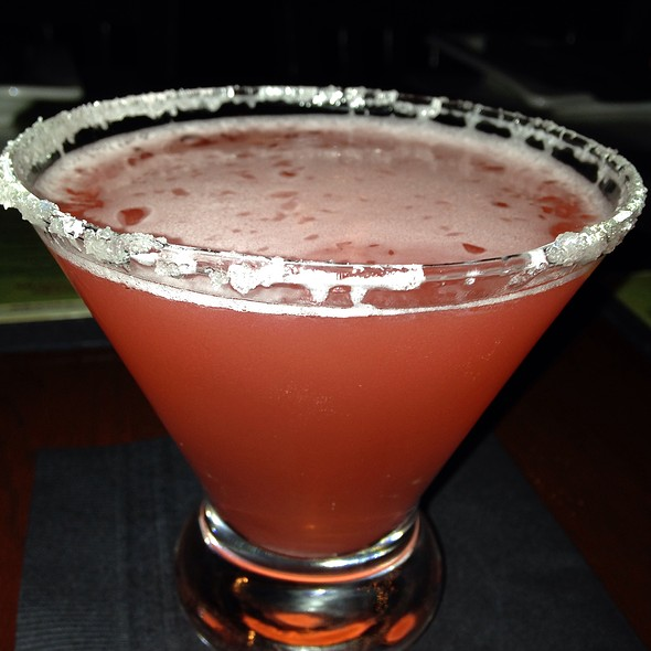 Strawberry Lemon Drop Martini - SAGE Woodfire Tavern - Alpharetta, Alpharetta, GA