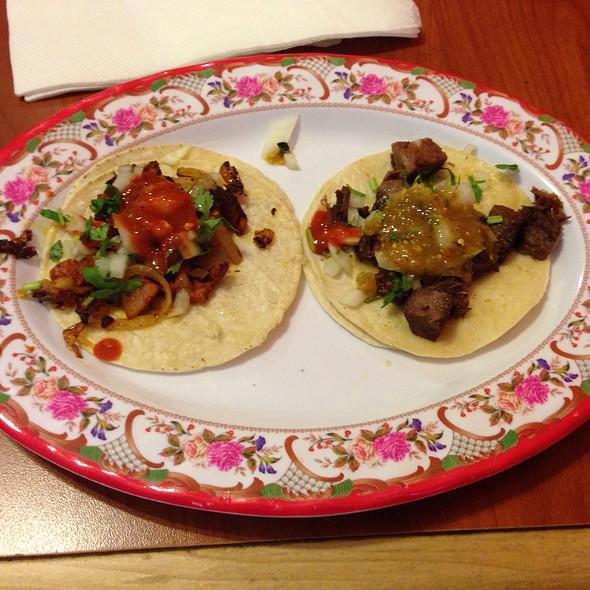 Lengua And Al Pastor Tacos