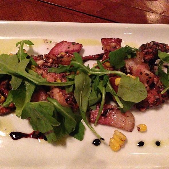 Grilled Octopus - JP Charlotte, Charlotte, NC