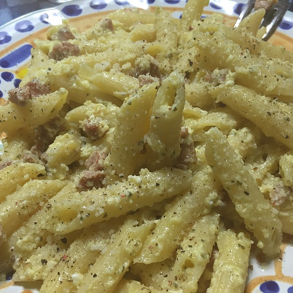 "Carbonara ""Povera"" @ Massi's House"