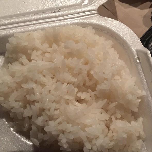 White Rice @ Ahjoomah's Apron