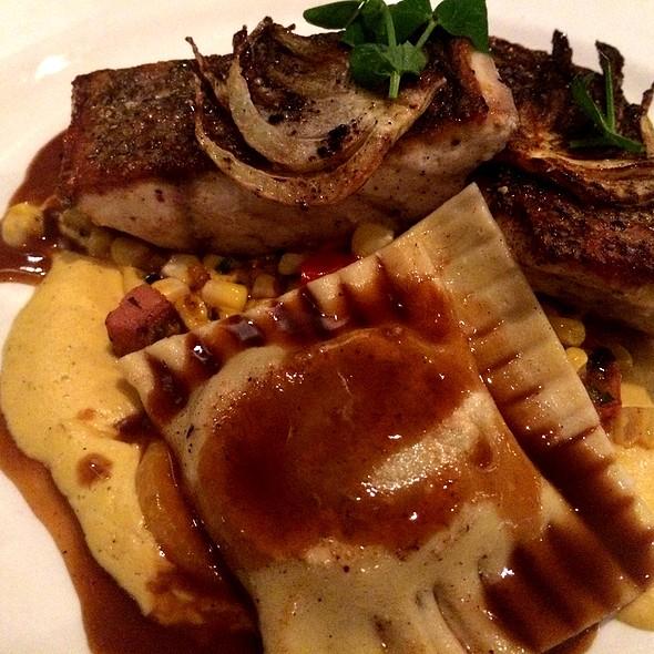 Crispy Redfish @ Holley's Seafood Restaurant & Oyster Bar
