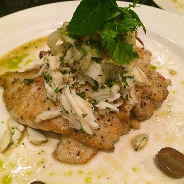 Gulf Flounder @ Holley's Seafood Restaurant & Oyster Bar