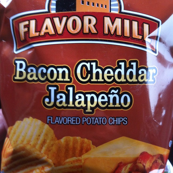 Flavor Mill Bacon Cheddar Jalapeno Flavored Potato Chips @ Jumpin Jimmy's Marathon