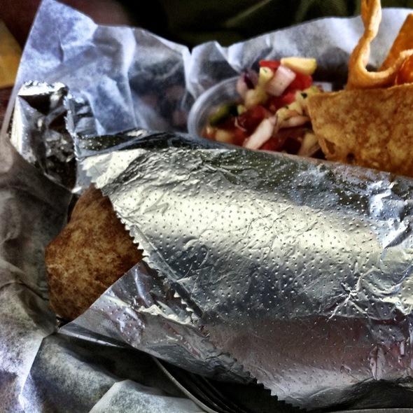 La Happy Vegan Burrito @ Sheik Burritos N Kabobs
