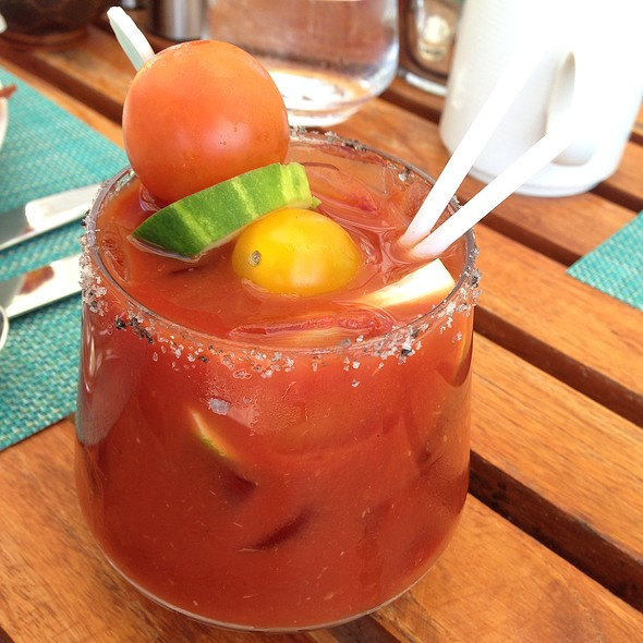 Hawaiian Bloody Mary - Plumeria Beach House, Honolulu, HI