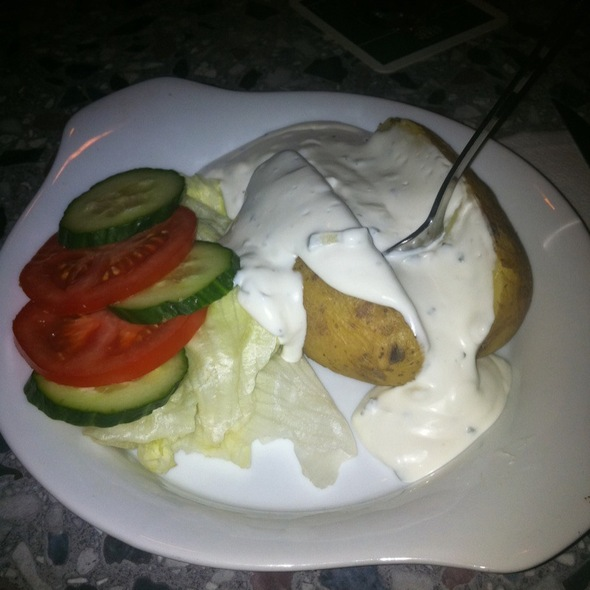 Ofenkartoffel Mit Sour Cream @ Klimperkiste