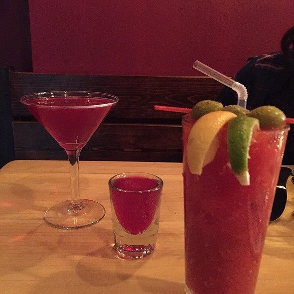 Bklyn Beet Tini /Bloody Mary @ Brooklyn Beet Company