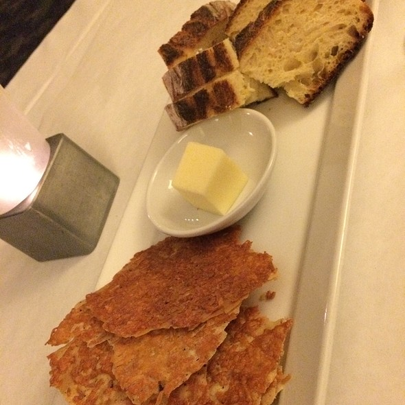 Parmesan Crisps & Bread - Sam and Harry's - Renaissance Schaumburg, Schaumburg, IL