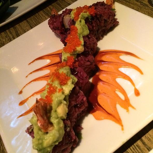 Guacamole Shrimp Sushi Roll - Tokio Pub, Schaumburg, IL